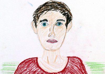 unst 9+10 Bild 2 - Bild des Menschen - Portraitzeichnen
