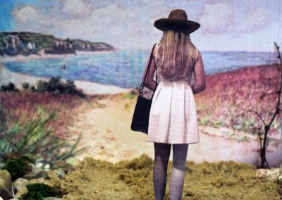 """Kunst 9+10 Bild 1 """"Mensch und Landschaft"""""""