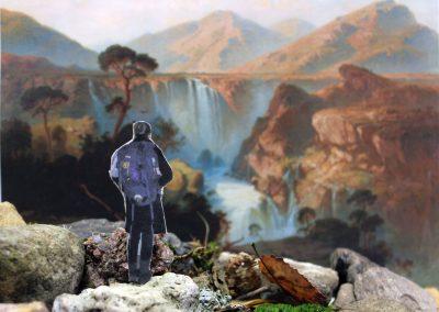 """Kunst 9+10 Bild 3 """"Mensch und Landschaft"""""""