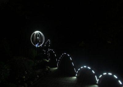 Ku GyO Bild 1 - Lightpainting Sarah S