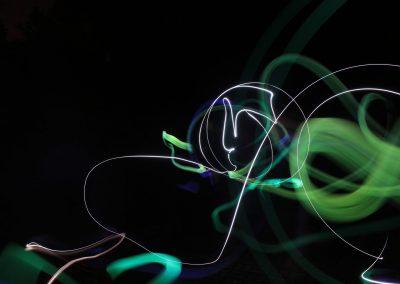Ku GyO Bild 4 - Lightpainting Sarah S
